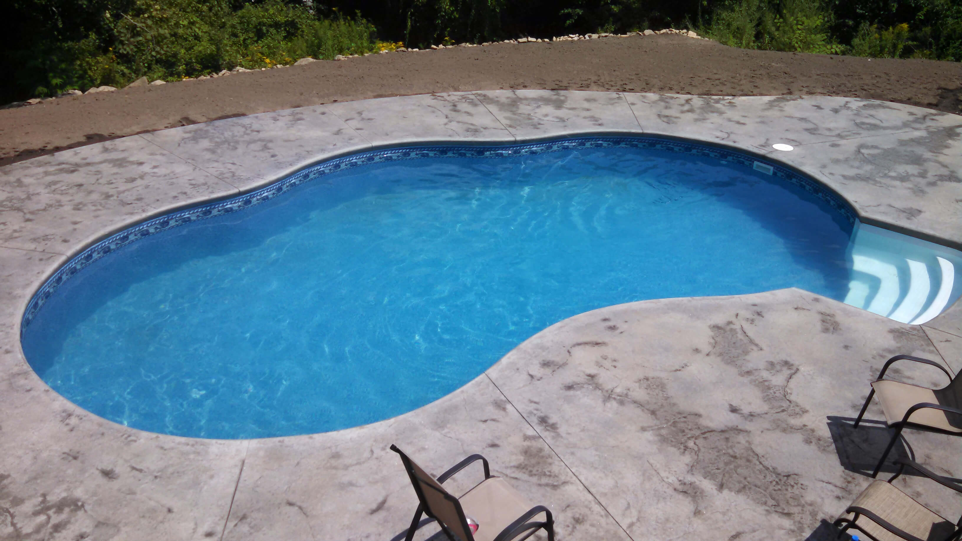 Westford Ma Radiant Pool Freeform Matley Swimming Pools And Spas