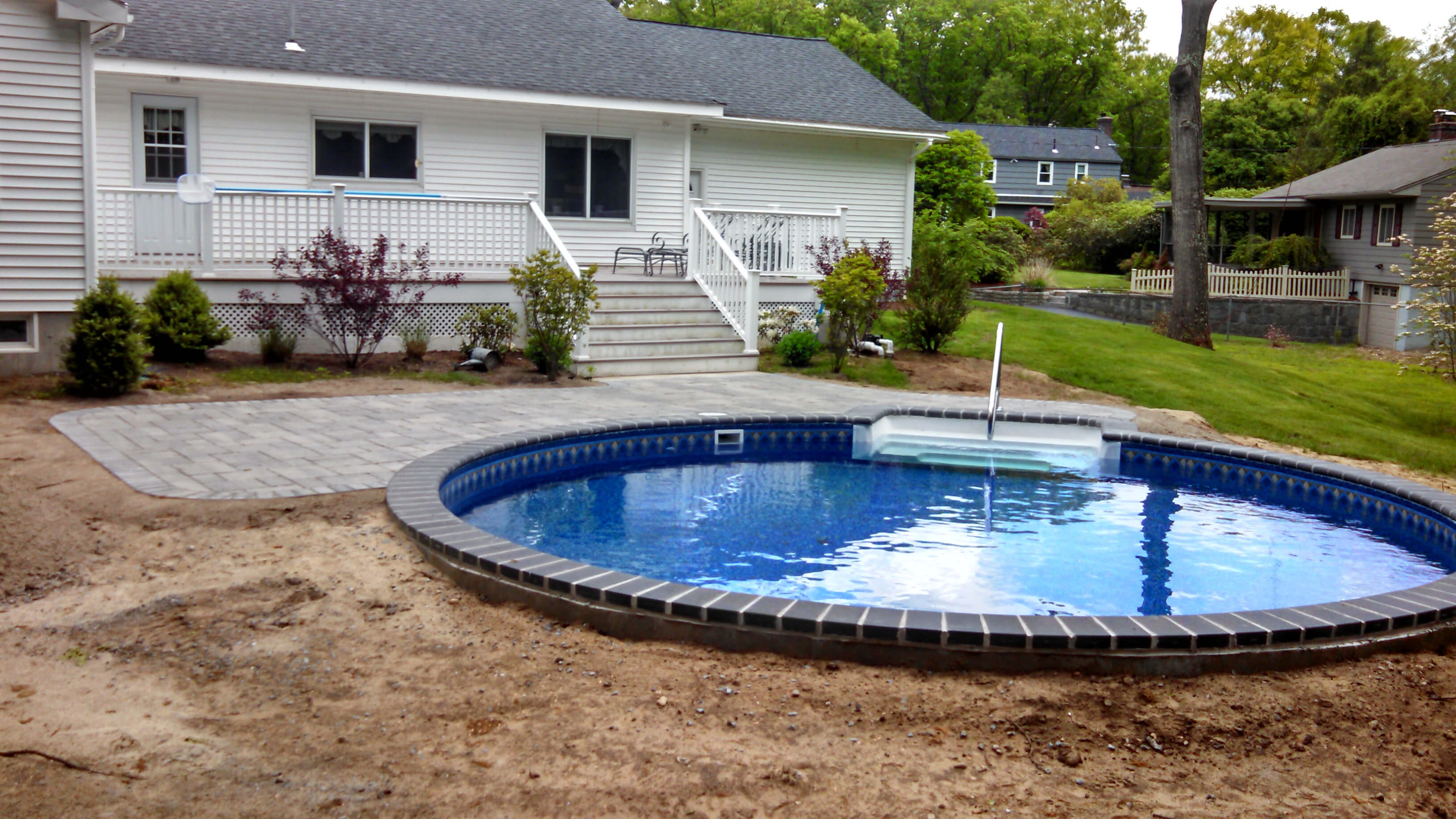Round Spa Pool Covers