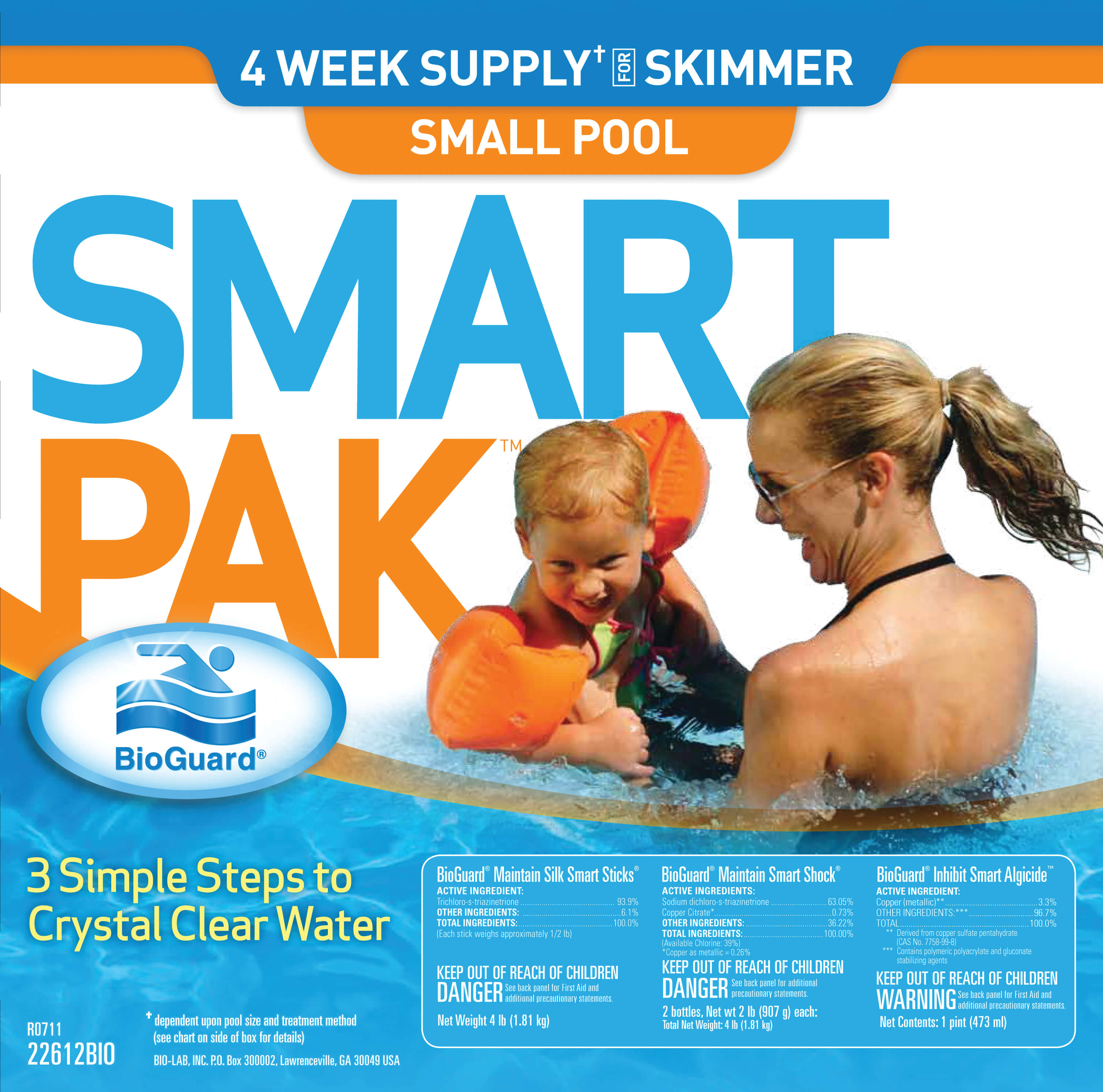Smart Pak Skimmer 1 Box Large Matley Swimming Pools And Spas