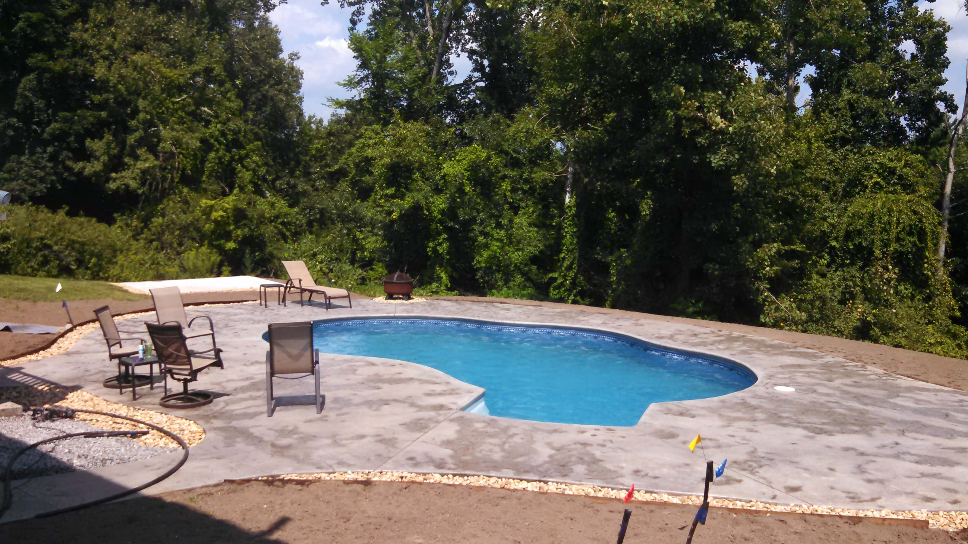 Westford Ma Radiant Pool Freeform Matley Swimming Pools