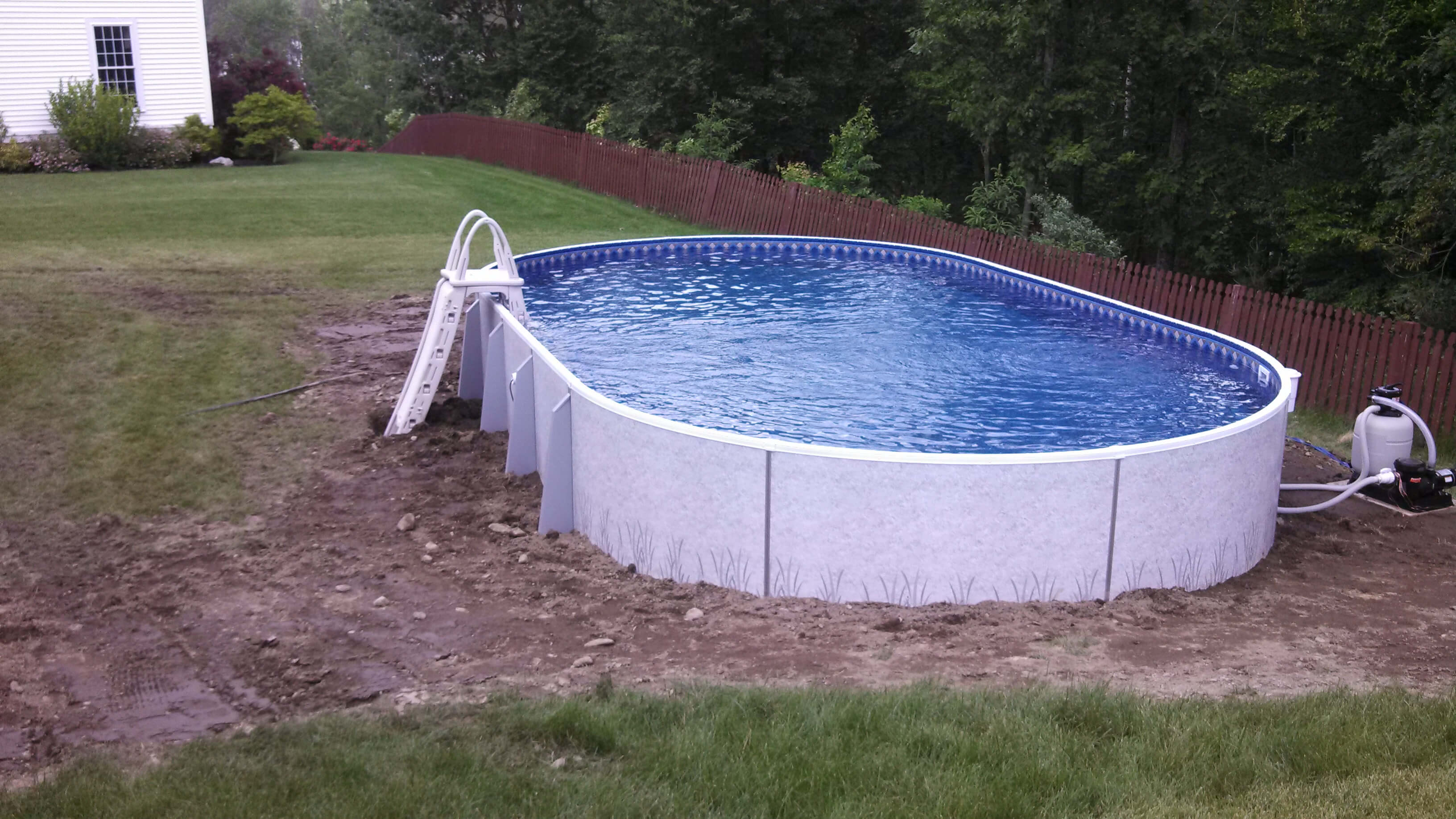 Ayer Ma Above Ground Swimming Pool Matley Swimming Pools And Spas