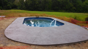 Groton MA Inground Swimming Pool