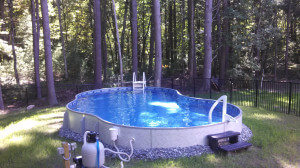 North Chelmsford MA Swimming Pool Installation