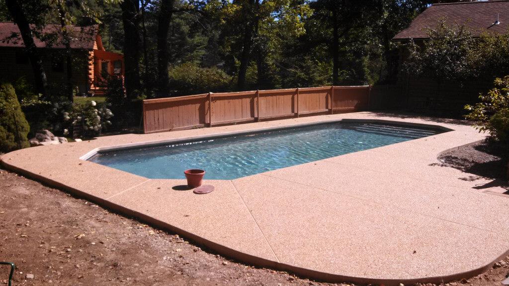 Dunstable ma custom inground swimming pool matley swimming pools and spas for Swimming pool covers for inground pools